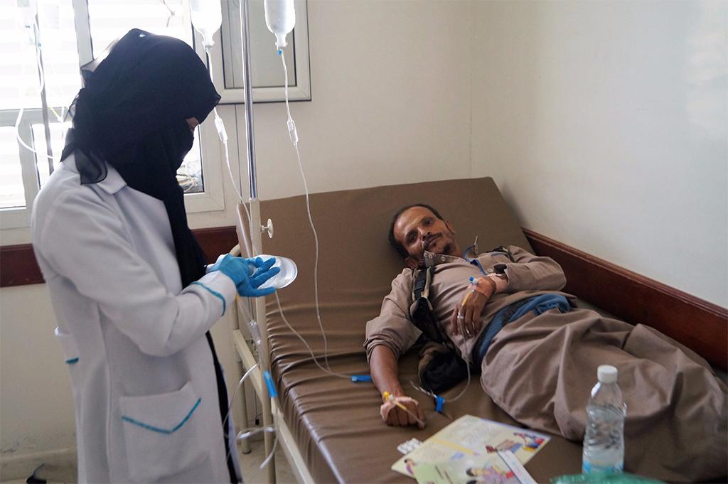 الصحة العالمية اليمن يواجه أكبر تفش لمرض الكوليرا في العالم