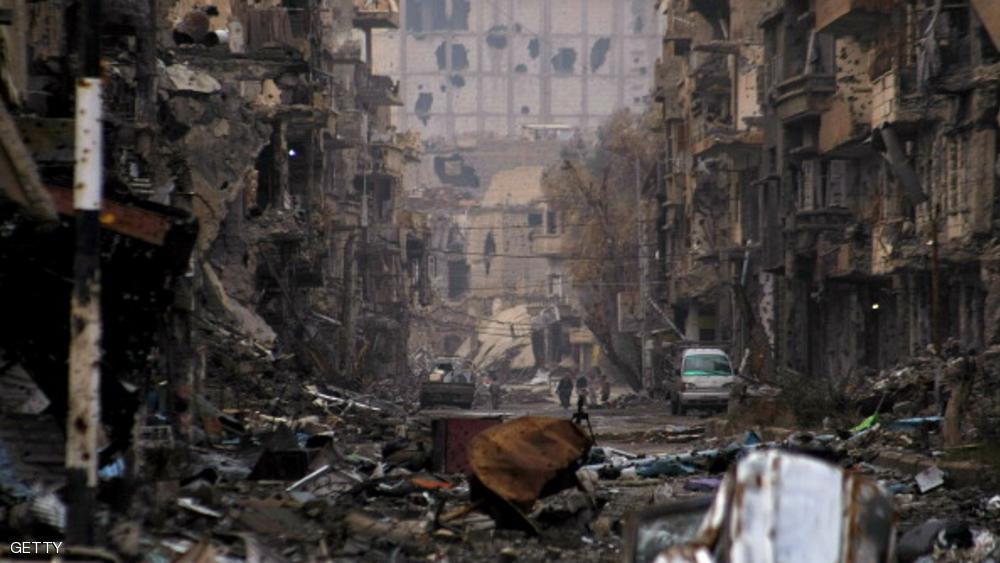 صورهواشنطن : روسيا مسؤولة عن قصف معسكر للجيش السوري