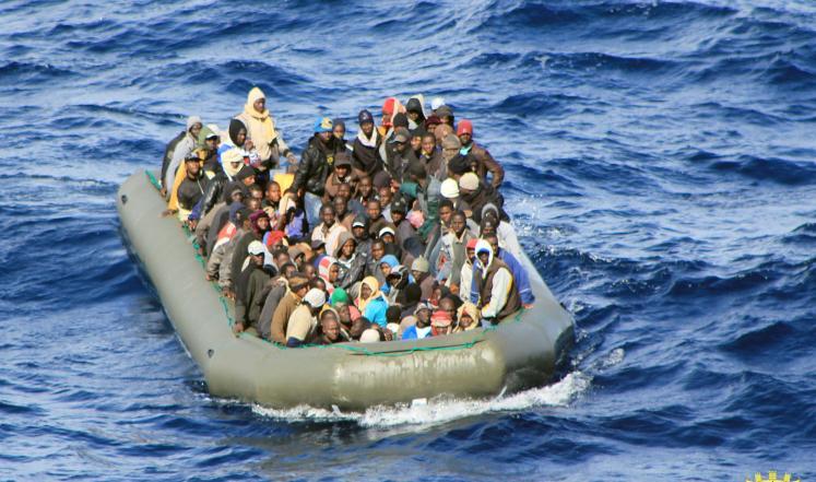 غرق مهاجرين غير شرعيين قرب سواحل ليبيا