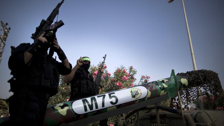 صورهكتائب #القسام تعلن قصف محطة الغاز #الاسرائيلية قبالة سواحل #غزة بصاروخين