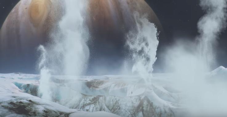قمر اوروبا كوكب المشتري